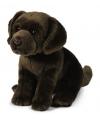 Bruine labrador honden knuffeltje