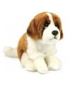 Pluche Sint Bernard knuffeldier 19 cm